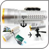 4 Light Source Blue White Yellow Purple Led Rechargeable High Power Fishing Light Led Fishing Lamp with Tripod