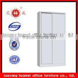 Stainless vertical KD steel double sliding door office filing cabinet