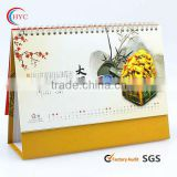 gift table calendar printing paper calendar supplier
