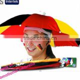 190T Nylon Fabric Material and Novelty Design Umbrella Hat,Umbrellas Type Novelty Design Umbrella Hat