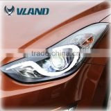Rohs CE Emark ISO9001 elantra car accessories hyundai elantra led head light car headlight assembly