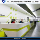 2016 Commercial europe style hair salon reception cashier, modern reception desk