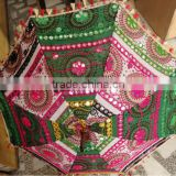 RTUM-3 Splendid Craft work Jaipuri umbrella for sun protection Handcrafted Embroidery Design Excellent Gift umbrella From Jaipur