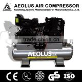 Diesel engine piston type Air Compressor JL1155T with CE lubricated belt driven air compressor
