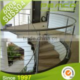 Top class wholesale price customizing indoor/outdoor stainless steel railing/balustrade balcony handrail