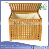 Weaving Storage Hamper Laundry Hamper Bamboo Laundry Basket                                                                         Quality Choice