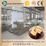 CE approved professional small chocolate coating machine for enrobing