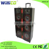 New product with color light professional stage speaker wholesale china
