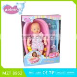 hot item14 inch lovely baby doll with Russian song