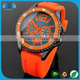 Hot Selling Items 2016 Cheap Silicone Rubber Strap Watch
