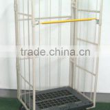 collapsible logistics trolley,foldable logistics trolley,wire mesh cage cart/trolley,,roller cage,roller container,roller pallet