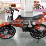 2014 motorbike style children bike hot sale bikes red color mini bikes suit for girls and boys