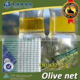 (Shanghai Factory ) Hot Sell , HDPE olive net packing with Alu eyelet in rolls 33GSM / 60102-33