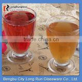 LongRun 258ml clear transparent glass red wine galss mug drinking coffee glass cup wholesale