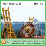 Most popular Outdoor playground equipments hot amusement rides Rotating flying UFO ride for sale