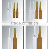 Amber pharmaceutical Glass ampoule ,placenta ampoules,ampoules serum,vitamin c ampoules bottle