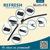 Multifit type Windshield All-in-one Wiper Blade Rubber Refill from Manufacturer directly