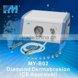 MY-B02 microdermation treatments ,diamond peel microdermabrasion machine home use (CE Approved)