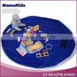 2016 New foldable Kids Toy Storage Bag outdoor Playing Mat Toys Organizer
