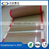 Hot Drying Tunnel drying oven dryer machine food dryer PTFE teflon coated fiberglass mesh conveyor belt