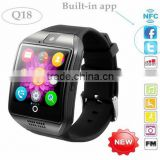 2016 Heat NEW Bluetooth smart watch Apro Q18 (8GB) Support NFC SIM GSM Video camera Support Android/IOS Mobile phone