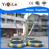 2016 the superior quality bungee jumping trampoline bungee trampoline harness bungee trampoline on trailer