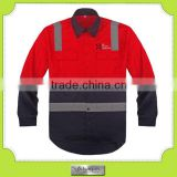 High Quality Fabric Unisex Spring and Autumn Cotton Work Uniform Industrial Use Work Wear