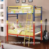 2016 new design hot sale cheap single adult metal bunk bed kids bunk bed