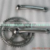 High Quality Titanium Crank Sets Custom Titanium Taper Squared Crank & Chainwheel bicycle parts 170mm Crank Arm and Spider