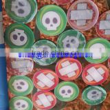 Plastic Token Coin Product Type and Plastic Material Embossed plastic token coins wash shop game token