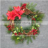 New arrival Artificial Florals and Christmas Garland,artificial Xmas garland