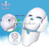 Skin Rejuvenation Safey Face Acne Treatment Led Mask Electric Led Light For Skin Care LED Skin Rejuvenation 7 Color Lights Pdt Machine In China