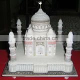 White Marble Taj Mahal Replicas New Year Gift