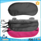 Inflight polyester eye shade for travel sleeping