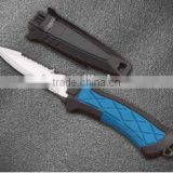 Fish Saber Diving Knives Rescue Scuba Diver High Hardness, Diving Knife With Sheath,Camping Knife,Hunting Survive Knife