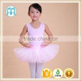 Flower Fairy baby tutu dress Kids sleeveless dancewear for parties tulle tutu birthday dancing dresses