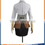 OEM wholesale European design fashion Waiter workwear women lady restaurant uniform skirt
