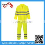 Cheap High Visibility Reflective Safety Pvc Military Poncho Raincoat