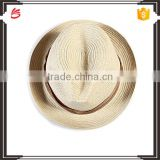 New design panama hat fashion round straw hat for men