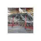 Tail Dock High Tensile Aircraft Scaffolding with Ring lock Horizontal Stabilizer / Vertical Stabiliz
