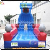High quality inflatable squash ball game court,giant inflatable sports games,bowling game for kid