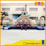 2016 AOQI most popular amusement park equipment inflatable pirate ship bouncer for sale