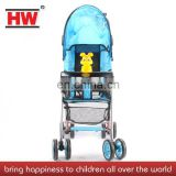 Strong 4 wheel multifunctional baby carrier basket