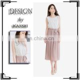 Wholesale korean style women wear new model casual dress for women