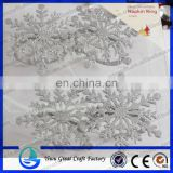 Metal shiny flakes curtain buckle