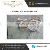Attractive Designed Handmade Dream Catcher Bracelet at Wholesale Price