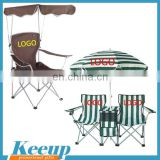 Customized convenient goods economic folding chair folding chair with sunshade or umbrella