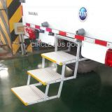 Electrical triple foldable bus door step,electrical retractable bus foot step(EBS200T)