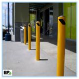 Traffic Control Security Steel Bollard