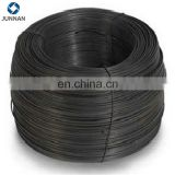 25kg/coil packing black steel wire per ton price